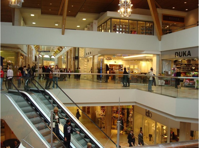 Kringlan shopping mall